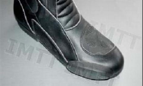 As botas que oferecem mais segurança ao condutor de motociclos: